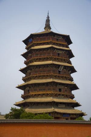 04454 山西应县木塔-图片中国