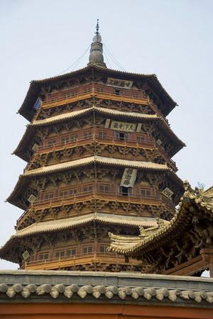 04455 山西应县木塔-图片中国